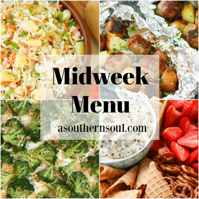Midweek Menu #77 – Sausage and Potato Foil Packs