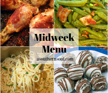 Midweek Menu #80 – Oven Fried Chicken