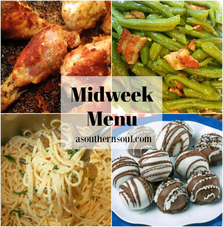 Midweek Menu #80 – Oven Fried Chicken