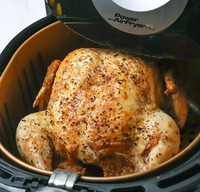 Easy Air Fryer Whole Chicken