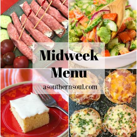 Midweek Menu #81 – English Muffin Pizzas