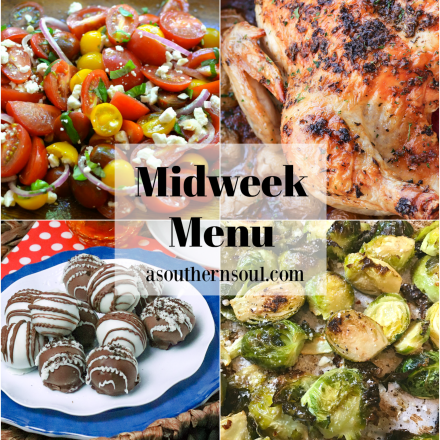 Midweek Menu #82 – Valentines Day Dinner