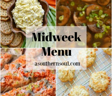 Midweek Menu #84 – Buffalo Chicken Pizza