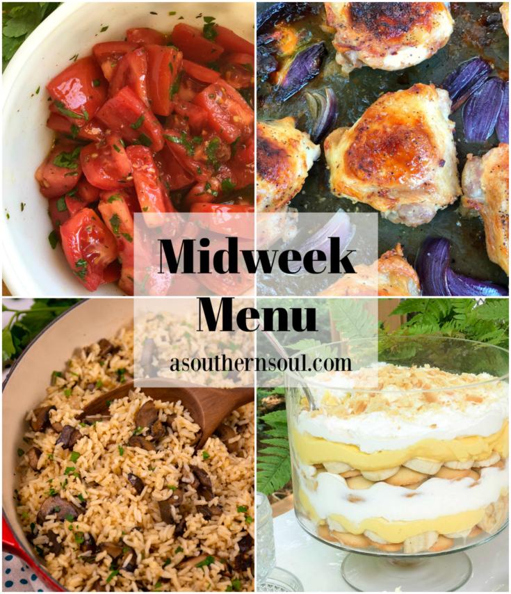 Midweek Menu #85 - Sheet Pan Ranch Chicken Thighs