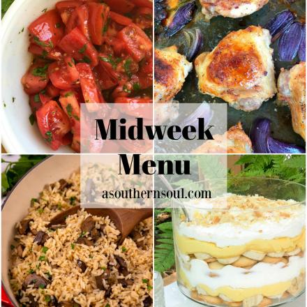 Midweek Menu #85 – Sheet Pan Ranch Chicken Thighs