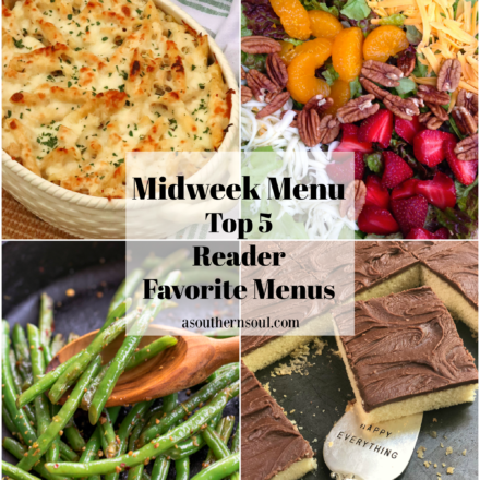 Midweek Menu Top 5 Reader Favorite Menus