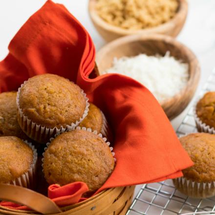 Pumpkin Coconut Muffins