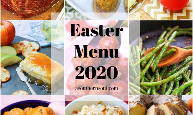 Easter Menu 2020